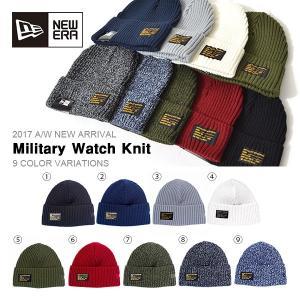 ゆうパケット対応可能! ニット帽 ニューエラ NEW ERA ミリタリー ワッチ ニットキャップ ビーニー Military Watch Knit 帽子 50%off 半額|elephant