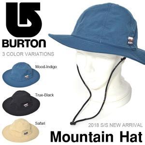 ハット バートン BURTON Mountain Hat メンズ ハット サファリ 撥水 帽子 ワッペン 帽子 アウトドア キャンプ 野外フェス 2018春夏新作 30%off|elephant