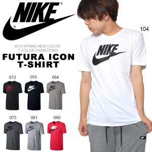 半袖 Tシャツ ナイキ NIKE メンズ フューチュラ アイコン TEE シャツ ロゴ プリント 半袖Tシャツ コットン 696708 2018夏新色 10%off|elephant