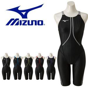 FINA承認 競泳水着 ミズノ MIZUNO ストリームアクセラ ハーフスーツ レディース スイムウェア 水泳 スイミング 競泳 2018春夏新作 得割20 送料無料 N2MG8223|elephant