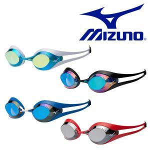 GX・SONIC EYE スイミングゴーグル MIZUNO ミズノ メンズ レディース ノンクッションタイプ ミラーレンズ 水泳 競泳  得割20|elephant