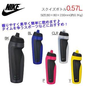 水筒 ナイキ NIKE サーモス THERMOS スクイズボトル 0.57 リットル 冷飲料専用 直飲み ランニング 自転車 サイクリング|elephant