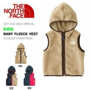 ベビー モコモコ フリース ベスト ジャケット THE NORTH FACE ザ・ノースフェイス Baby Fleece Vest ベビー フリース ベスト キッズ 子供 2017秋冬新作 nab71703|elephant
