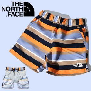 UV 海水パンツ THE NORTH FACE ザ・ノースフェイス キッズ Novelty Water Short ウォーターショーツ 2019春夏新作 ビーチ 水着 インナーメッシュ付 nbj41946|elephant