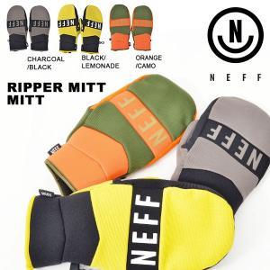 スノーボード グローブ NEFF ネフ 手袋 ミトン スノボ RIPPER MITT メンズ レディース 2018-2019冬新作 18-19 得割20|elephant