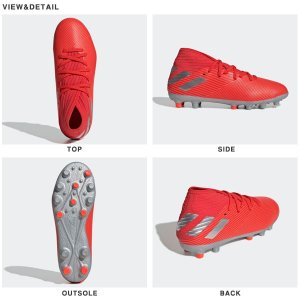 キッズ サッカースパイク アディダス adidas ネメシス 19.3-ジャパン HG/AG J ジュニア 子供 スパイク 固定式 シューズ 靴 2019秋新作 得割20 送料無料 EF8845|elephant|02