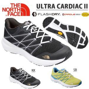送料無料 トレイル シューズ THE NORTH FACE ザ・ノースフェイス Ultra Cardiac II ウルトラ カーディアック メンズ Vibram Sole アウトドア 靴|elephant