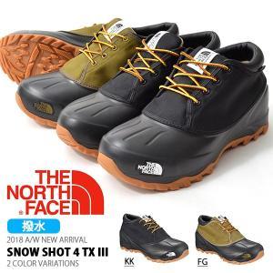 ザ・ノースフェイス THE NORTH FACE メンズ レディース スノーショット4 テキスタイル3 ウインターブーツ スノー スノトレ 撥水 nf51862|elephant