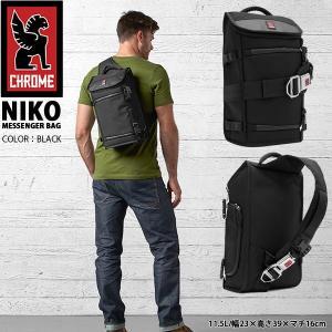 メッセンジャーバッグ クローム CHROME NIKO ニコ カメラケース ショルダー バッグ カメラバッグ ボディバッグ 一眼レフ CAMERA BAG 約11.5L|elephant