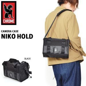 ショルダーバッグ クローム CHROME カメラバッグ NIKO HOLD ニコ ホールド ショルダー ニコ パック カメラケース 2018冬新作 BG235ALLB|elephant