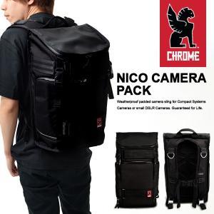 バックパック クローム CHROME メンズ カメラバッグ ショルダー NIKO PACK ニコ パック|elephant