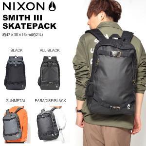 バックパック NIXON ニクソン スミス SMITH III SKATEPACK リュックサック デイパック バッグ BAG かばん 鞄 カバン|elephant