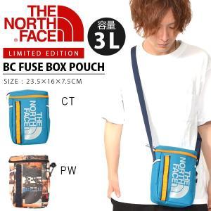 追加企画 限定カラー ショルダー ポーチ THE NORTH FACE ザ・ノースフェイス BC Fuse Box Pouch ヒューズボックス ポーチ 3L 2019夏新色 nm81865 バッグ|elephant