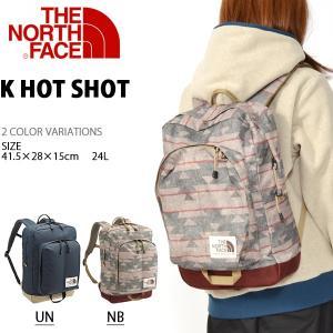リュックサック ザ・ノースフェイス THE NORTH FACE K Hot Shot キッズ レディース 子供 24リットル デイパック バッグ 2018秋冬新色 nmj71750 バックパック|elephant