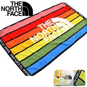 タオル THE NORTH FACE ザ・ノースフェイス Mt Rainbow Towel Lマウンテン レインボー タオルL 65cm×120cm 2019春夏新作 nnb01907 バスタオル|elephant