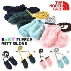 THE NORTH FACE(ザ・ノースフェイス)Baby Fleece Mitt Glove(ベビ...
