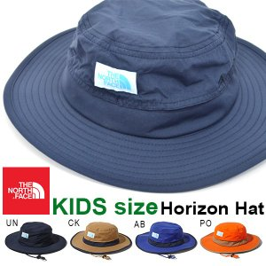 UVカット ハット ザ・ノースフェイス THE NORTH FACE Kids Horizon Hat キッズ ホライゾン ハット 帽子 2019春夏新作 子供 撥水 紫外線 日差し防止 nnj01903|elephant