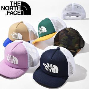 メッシュ キャップ THE NORTH FACE ザ・ノースフェイス Logo Mesh Cap キッズ ロゴ 帽子 子供 遠足 紫外線防止 2019春夏新作 日よけ nnj01911|elephant