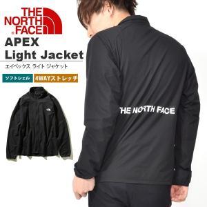 ソフト シェル ジャケット THE NORTH FACE ザ・ノースフェイス APEX Light エイペックス ライト ジャケット メンズ 2019春夏新作 np21989 バックプリント ロゴ|elephant