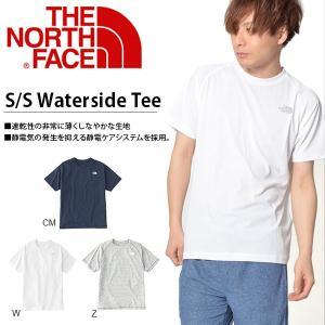 水陸両用 半袖 ラッシュTシャツ THE NORTH FACE ザ・ノースフェイス メンズ S/S Waterside Tee ショートスリーブウォーターサイドティー 2018春夏新作  nt11845|elephant