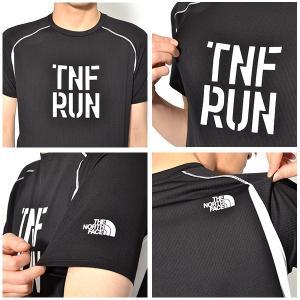 UV 半袖Tシャツ THE NORTH FACE ザ・ノースフェイス メンズ S/S TNFR Logo Crew ショートスリーブ TNFR ロゴクルー TNF RUN nt11889|elephant|03
