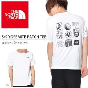追加企画 バックプリント 半袖Tシャツ THE NORTH FACE ザ・ノースフェイス メンズ S/S Yosemite Patch Tee ヨセミテ パッチ Tシャツ 2018夏新作 nt31808|elephant