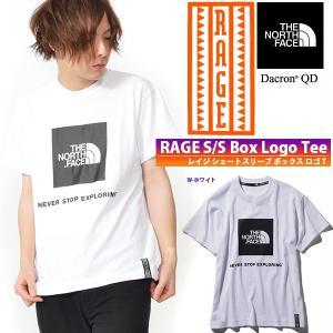 復刻 RAGEシリーズ 半袖 Tシャツ THE NORTH FACE ザ・ノースフェイス RAGE S/S Box Logo Tee レイジ ボックス ロゴ T メンズ 2019春新作 スクエアロゴ nt31964