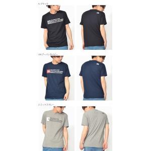 スクエア ロゴ UV 半袖Tシャツ THE NORTH FACE ザ・ノースフェイス Square Logo Tee スクエア ロゴティー メンズ 2019春夏新作 紫外線防止 nt31975 elephant 03