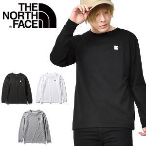 2020春夏新作 スクエアロゴ 長袖Tシャツ THE NORTH FACE ザ・ノースフェイス スモ...