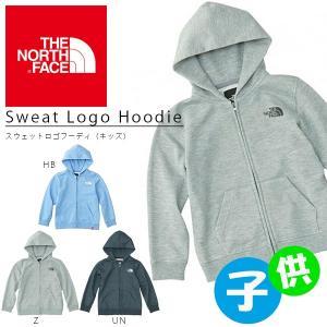 送料無料 スウェット パーカー ザ・ノースフェイス THE NORTH FACE キッズ Sweat Logo Hoodie スウェットロゴフーディ アウトドア フルジップ|elephant