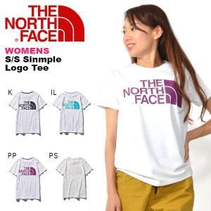 THE NORTH FACE (ノースフェイス) S/S Simple Logo Tee(ショートス...