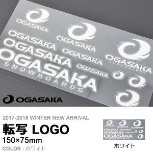 ゆうパケット対応可能! 転写ステッカー OGASAKA オガ...