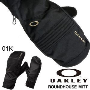 スノーグローブ OAKLEY オークリー メンズ ROUNDHOUSE MITT ミトン 手袋 スマートフォン対応 スノーボード スキー 防寒 2016-2017冬新作