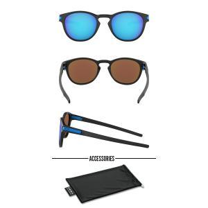 送料無料 サングラス OAKLEY オークリー LATCH ラッチ Prizm Sapphire 日本正規品 アジアンフィット 眼鏡 アイウェア oo9349 1453 elephant 02
