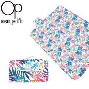 レジャーシート オーシャンパシフィック Ocean Pacific OP レディース ハンドル付き 折りたたみ おしゃれ ピクニックマット 529935 2019夏新作 10%off|elephant