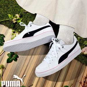 スニーカー プーマ PUMA レディース キッズ コートポイント シューズ 靴 362947 2019秋新色 25%OFF 送料無料