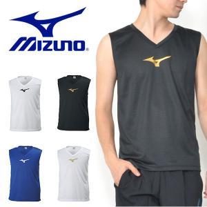 ノースリーブ ミズノ MIZUNO インナーシャツ メンズ サッカー フットボール フットサル スポーツウェア 部活 クラブ インナー アンダーウェア 得割10|elephant