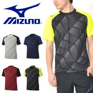 半袖 Tシャツ ミズノ MIZUNO フィールドシャツ メンズ サッカー プラクティスシャツ プラシャツ トレーニング ウェア 2019春夏新作 得割10|elephant
