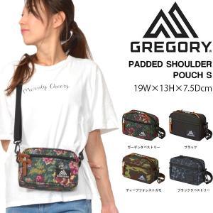 ミニ ショルダーバッグ GREGORY グレゴリー PADDED SHOULDER POUCH S  パデッドショルダーポーチS 2L ポーチ 斜め掛け 日本正規品 送料無料|elephant