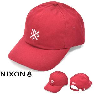 キャップ NIXON ニクソン 帽子 PREP STRAP BACK CAP スケート ぼうし スナ...
