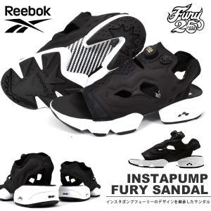 サンダル リーボック クラシック Reebok CLASSIC INSTAPUMP FURY SANDAL インスタポンプフューリー スニーカー ブラック 黒 V69436|elephant