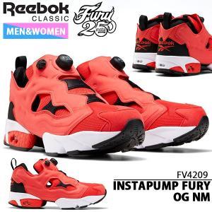 スニーカー リーボック クラシック Reebok メンズ レディース INSTAPUMP FURY OG NM シューズ 靴 レッド 赤 2020春新作 送料無料 FV4209|elephant