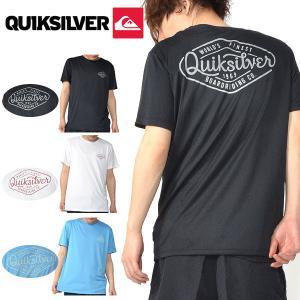 QUIKSILVER(クイックシルバー) 紳士・男性用  筆記体で書かれたブランドロゴが柔らかな印象...
