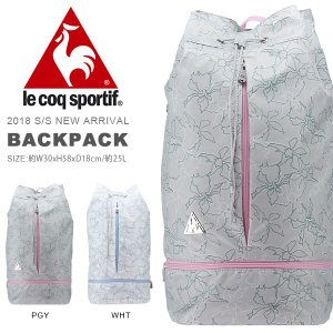 ルコック le coq sportif バックパック 25リットル リュックサック スポーツバッグ バッグ かばん 2018春夏新作 得割20 送料無料|elephant