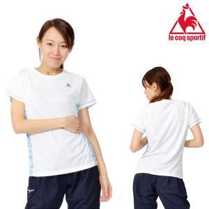 le coq sportif(ルコック) 半袖シャツ になります。  レディース・女性・婦人 吸汗速...
