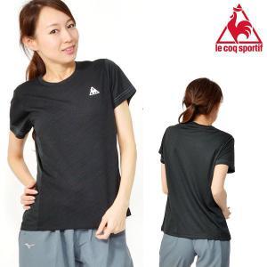 le coq sportif(ルコック) 半袖シャツ になります。  レディース・女性・婦人 新開発...