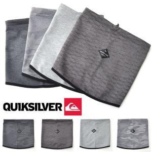 ネックウォーマー QUIKSILVER クイックシルバー メンズ QUIK BLOCK NECK WARMER ネックゲイター 防寒 スノーボード スキー 30%off elephant