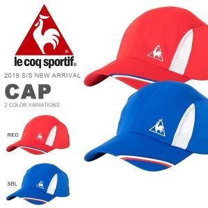 テニスキャップ ルコック le coq sportif キャップ メンズ レディース 帽子 CAP テニス 熱中症対策 2018春夏新作 得割20|elephant