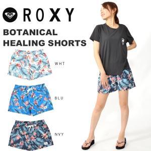 ロキシー ROXY ボードショーツ レディース BOTANICAL HEALING SHORTS ミドル丈サーフパンツ ショートパンツ スイムウェア 水着 2019春夏新作 10%off|elephant