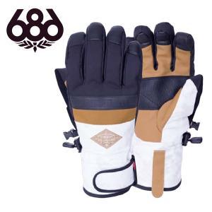 手袋 686 SIX EIGHT SIX シックスエイトシックス RECON GLOVE メンズ グローブ スノボ スノーボード L8WGLV08 2018-2019冬新作 得割20|elephant